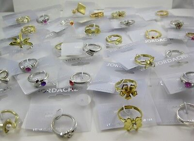 120 New Closeout Jordache Brand Costume Jewelry Rings #JDRING120