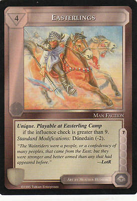 Easterlings - Middle Earth The Wizards CCG b.b. Lim.Ed. Mint/N.Mint 1995 ME84
