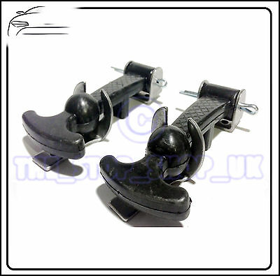 "Tractor Car MEDIUM RUBBER BONNET CATCH 3"" PAIR TMC1533"