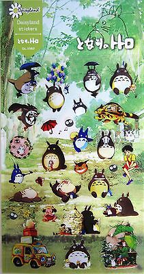 Studio Ghibli My Neighbour Totoro Stickers Scrapbook Diary Book Decoration Label