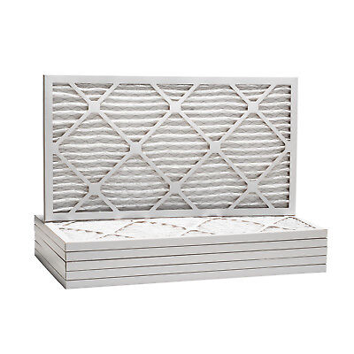16x22x1 Dust and Pollen Merv 8 Replacement AC Furnace Air Filter (6 Pack)