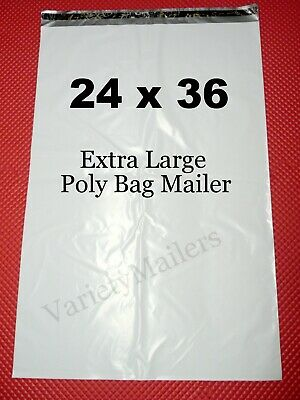 "3 Poly Bag Ex-Large Shipping Envelope Mailers 24""x 36"" Self-Sealing Huge Mailers"