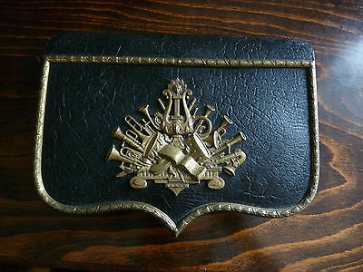 Beautiful Uniform Cartridge Box, Cartouche - 1800's