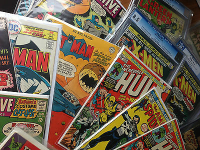 Fantastic Grab Bag lot, Batman, Iron Man, Wolverine, Hulk, X-men 181 1