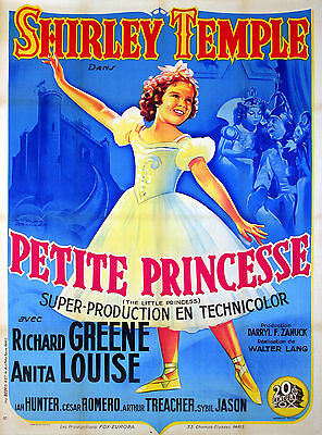 The Little Princess - Original French Poster