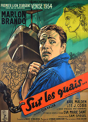 On The Waterfront - Original French Poster