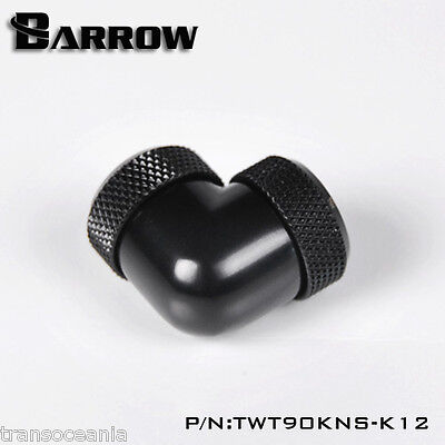 Barrow 12mm OD Rigid Tube Compression 90° Elbow Female to Female Socket Fitting