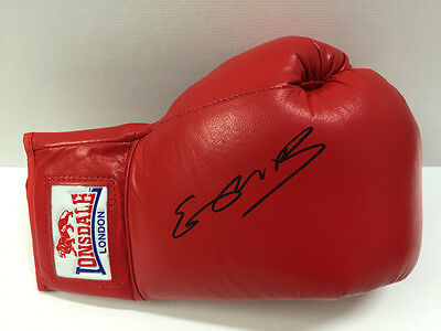 Kell BROOK Sheffield Boxer Signed Red Lonsdale Boxing Glove AFTAL COA Special K