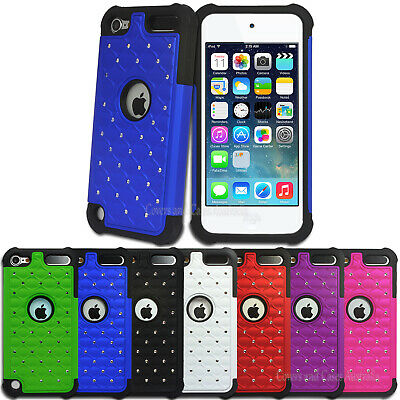 Diamante Tough Impact Case for Apple iPod Touch 5 5th Gen 5G Cover