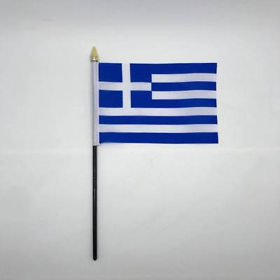 Table Desk Top Flag Greece  Flags Polyester Without Base Europe 100% to Charity