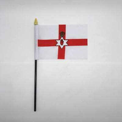 Table Desk Top Flag Northern Ireland Flags Polyester Without Base