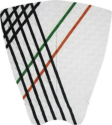 Stay Covered Rutherford 2Pc Flat Pad-Wht Mexico Surfboard Traction Pad