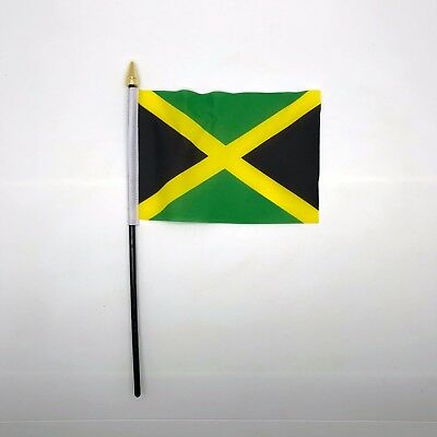 Table Desk Top Flag Jamaica Flags Polyester Without Base
