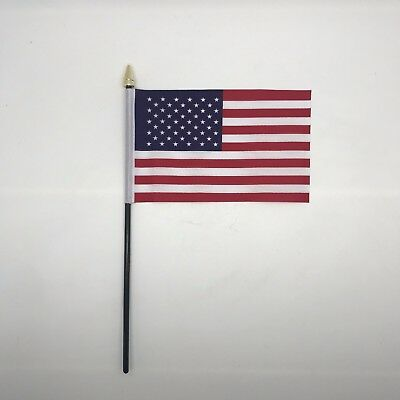 Table Desk Top Flag USA American Flags Polyester Without Base