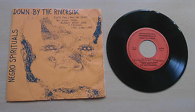 "*7"" Single* Singkreis Pullach * Negro Spirituals * Down By The Riverside.. * gut"