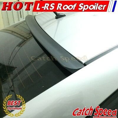 Flat Black LRS Type Rear Wing Roof Spoiler For Hyundai Genesis 2008-2012 Coupe♘