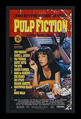 PULP FICTION  framed movie poster 11x17 Quality Wood Frame