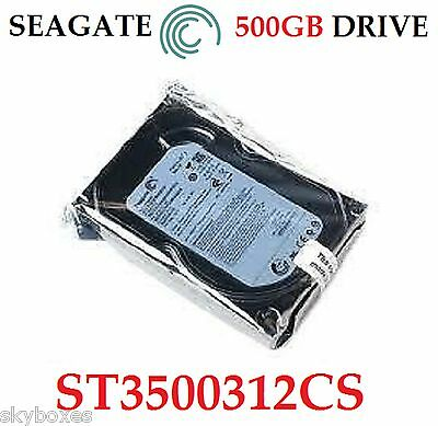 "Seagate 500Gb Sata Internal Desktop Pc 3.5"" Hdd Hard Disk Drive Cctv Mac Dvr Pvr"