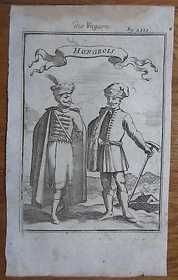 MALLET: People and Costume Hungary - 1718