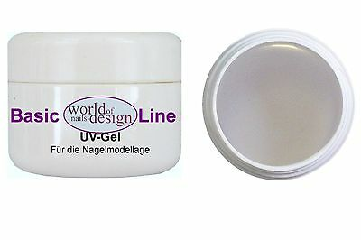 15ml Basic-Line Fiberglas Gel ✅ UV + LED Nagelgel starker Halt ✅ Problemnägel