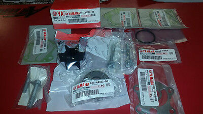 Yamaha OEM Water Pump Impeller Repair Kit for 60-90hp Outboards 692-W0078-02-00