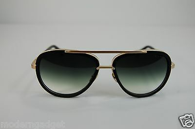 Dita Mach Two Titanium  Matte Black & Gold Drx 2031-F 12K Gold -60  Sunglasses.