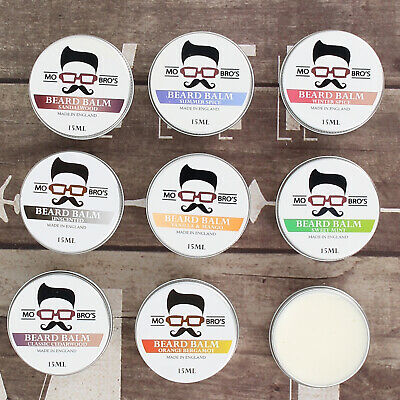 Mo Bro's - Beard & Skin Conditioning Balm 15ml Made In England  6 Various Scents