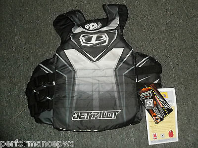 JETPILOT Ryder Side Entry Life Vest Jacket JP15213 Black USCG Approved S/M L/XL