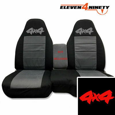 Magnificent 91 03 Ford Ranger 60 40 Black Charcoal Seat Covers 4X4 Uwap Interior Chair Design Uwaporg