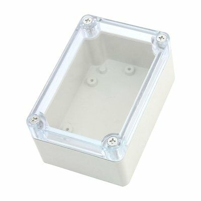 KS SS Screw Mounted Clear Cover Waterproof Sealed Junction Box 100x68x50mm