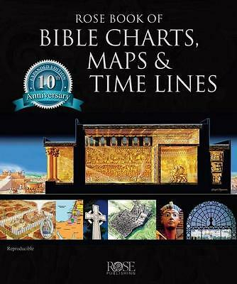 ROSE BOOK OF BIBLE CHARTS, MAPS & TIME LINES: 10th Anniversary Edition, 2015