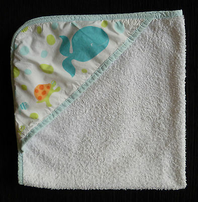 Baby clothes BOY 0-1m Mothercare hooded towel SEE MY SHOP! 2nd item post-free!