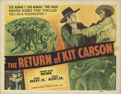 The Return of Kit Carson 1933 Original Movie Poster Western