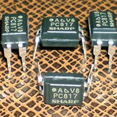 50PCS/Pack PC817 PC817C 817C Optocoupler DIP4 Electronic Accessories
