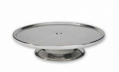 Stainless Steel Cake Stand 330mm x 70mm High