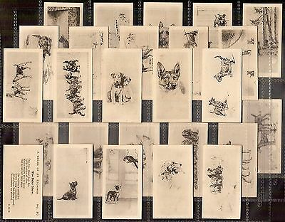 B.a.t.-Full Set- Etchings Of Dogs - Exc