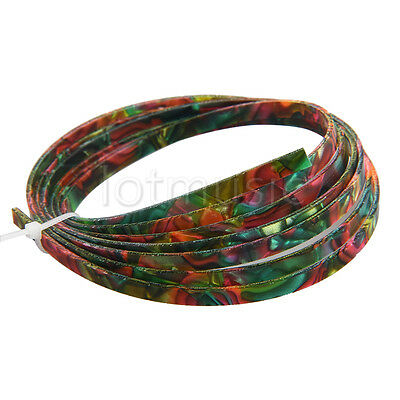Colorful Celluloid Guitar Binding Purfling Body Project Strip 1650x4x1.5mm