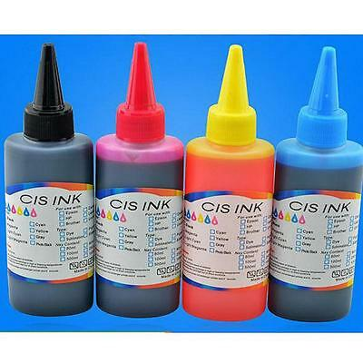 100ML Refill Ink for HP Canon Lenovo Lexmark RICOH OKI Inkjet Printer X