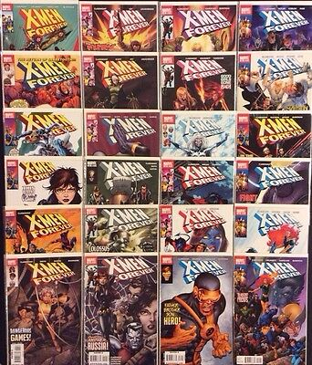 X-MEN FOREVER #1-24 Comic Books COMPLETE SERIES Marvel 2009 NM Wolverine Cyclops