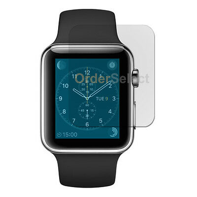 New Anti-Scratch Clear LCD Screen Protector for Apple iWatch Watch 1st Gen 42mm