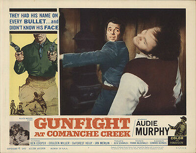 Gunfight at Comanche Creek 1963 Original Movie Poster Western