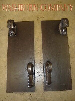 Euro style attaching bracket pair global quick attach