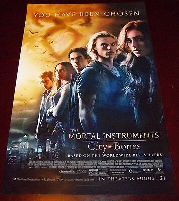 The Mortal Instruments City of Bones Original Movie Promo Poster 11x17 Size New