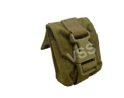 1x Frag Grenade Pouches Molle Coyote Eagle USMC Tactical Military Cell 052503 v