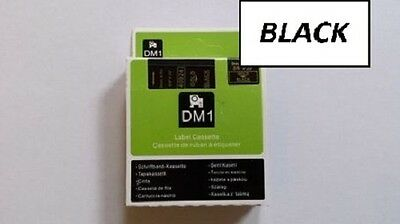 COMPATIBLE DYMO D1 SERIES STANDARD LABELLING TAPE 12mm, All colours