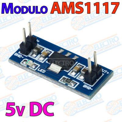 Modulo AMS1117 5v alimentacion fija DC power step down