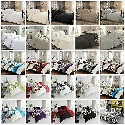 New Luxury  Duvet Quilt Cover Bedding Set With Pillow Cases Or With Sheet