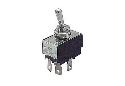 Interruttore a leva bipolare ON OFF 250V 10A faston 6,3 levetta 34x19mm 12V 8034