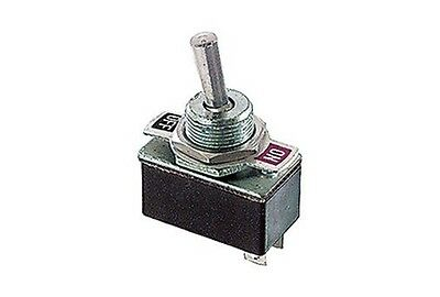 Interruttore a leva unipolare ON OFF 250V 2A switch levetta 25x14 12V 220V 6643