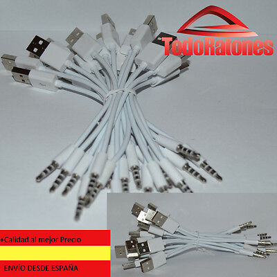 Cable USB para Apple iPod Shuffle 1G 2G Cargador Sincroniza Datos Jack MP3 MP4 2